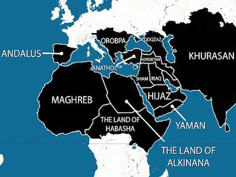 The jihadists terrorists of the Islamic State of Iraq and al-Sham